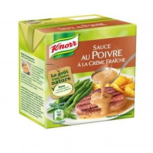 Sauce Poivre Knorr- My French Grocery