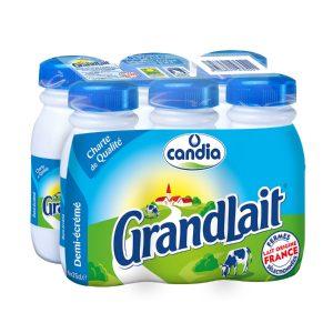 Lait Demi-Écrémé Candia Grandlait - My French Grocery