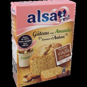Préparation Gâteau Aux Amandes Alsa - My French Grocery