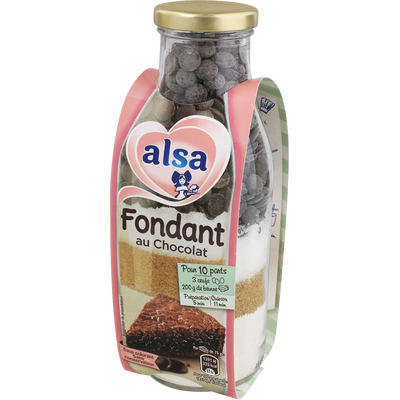 Préparation Fondant Au Chocolat Alsa - My French Grocery