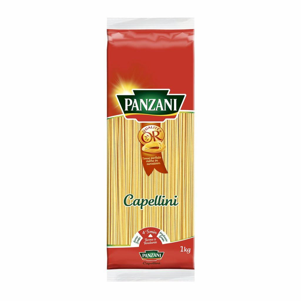 Pâtes Capellini Panzani - My French Grocery