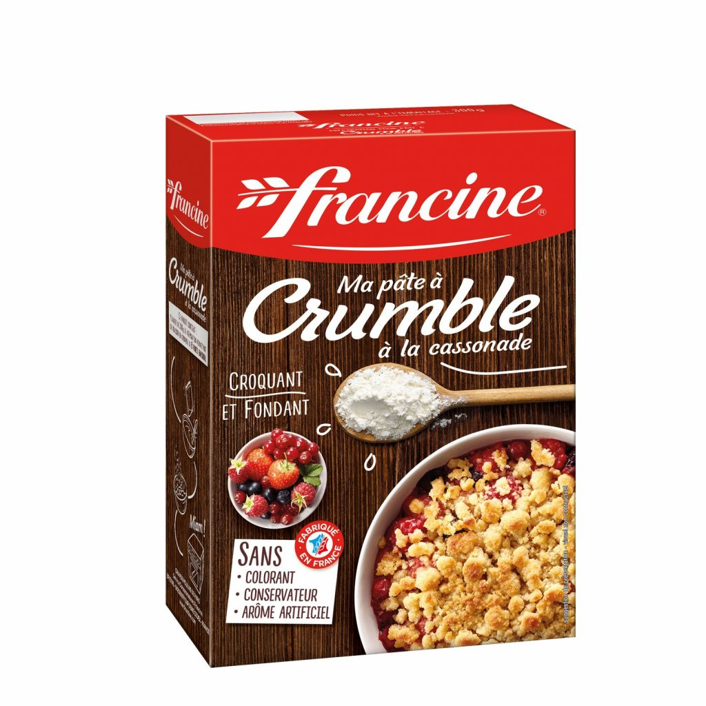 Préparation Pour Crumble Francine - My French Grocery