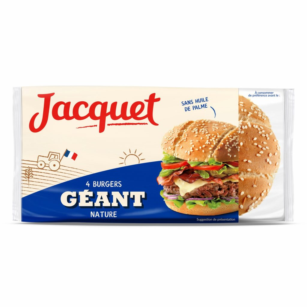 Pains Hamburger Géant Jacquet - My French Grocery