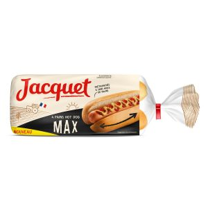 Pains Hot Dog Maxi Jacquet - My French Grocery