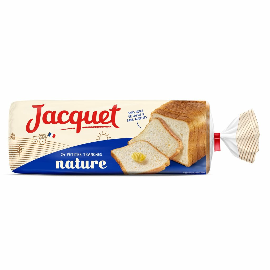 Pain De Mie Jacquet - Petites Tranches - My French Grocery