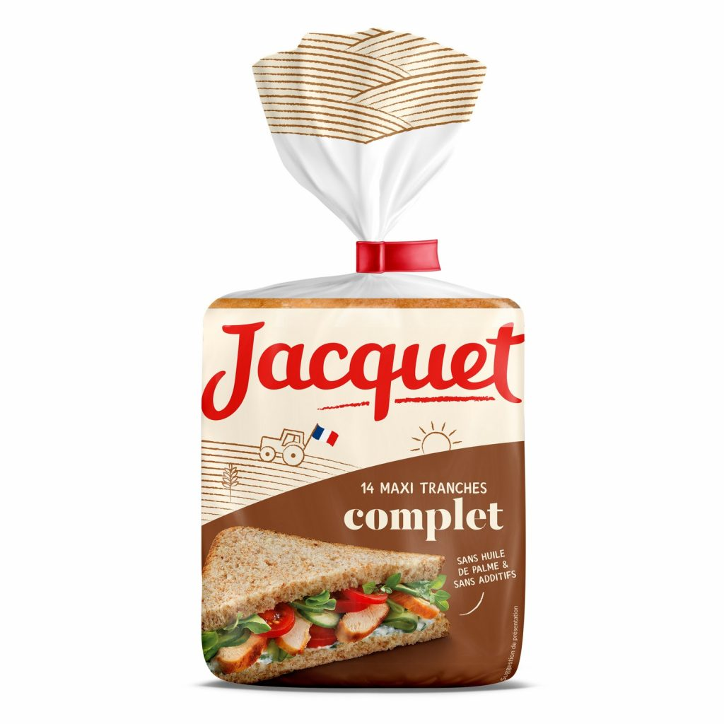 Pain De Mie Complet Jacquet - My French Grocery