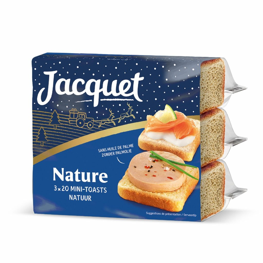 Pain De Mie Mini Toasts Jacquet - My French Grocery