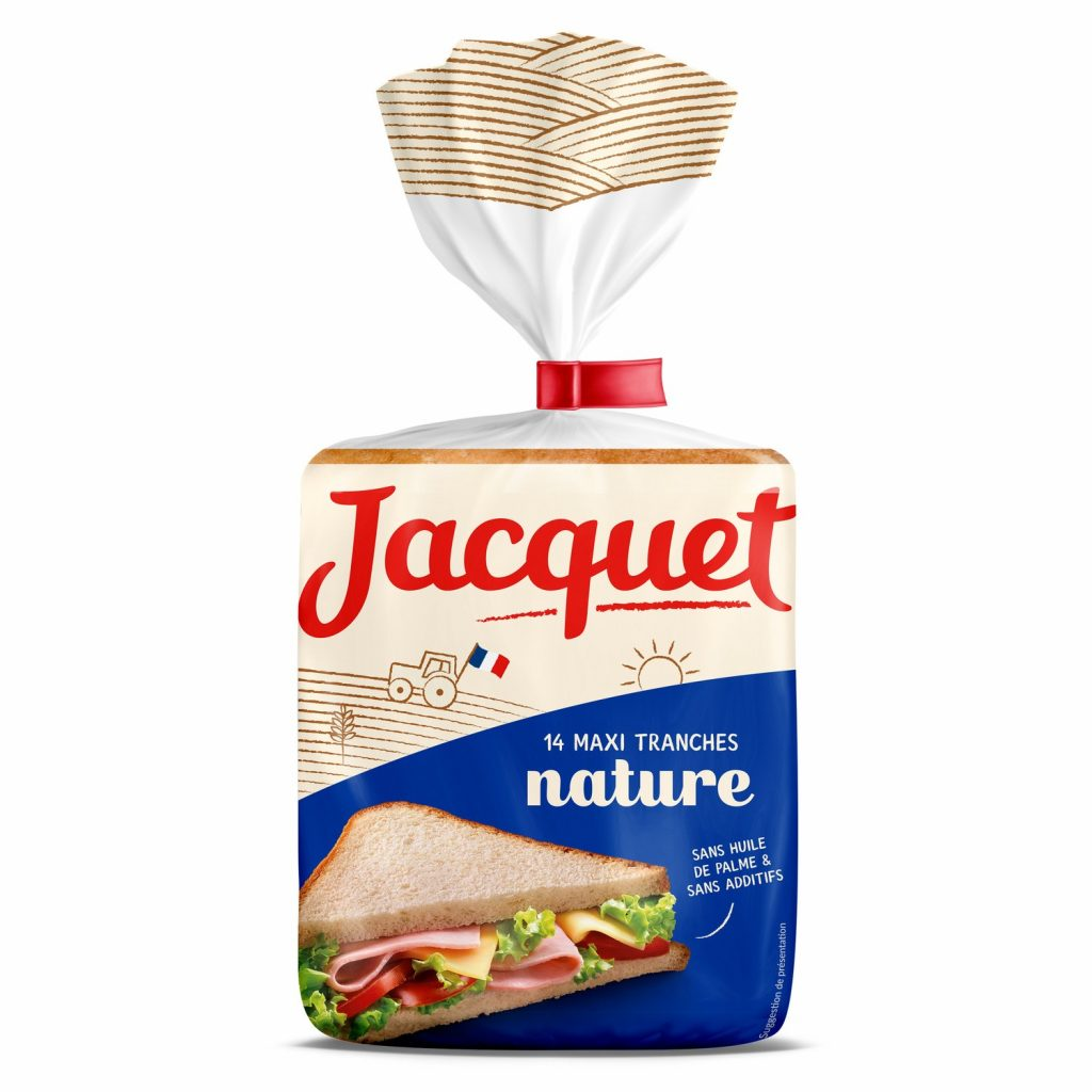 Pain De Mie Nature Jacquet - Grandes Tranches - My French Grocery