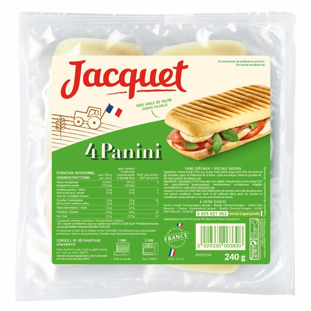 Pains Panini Jacquet - My French Grocery