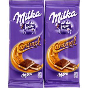 Milk & Caramel Chocolate Milka X2