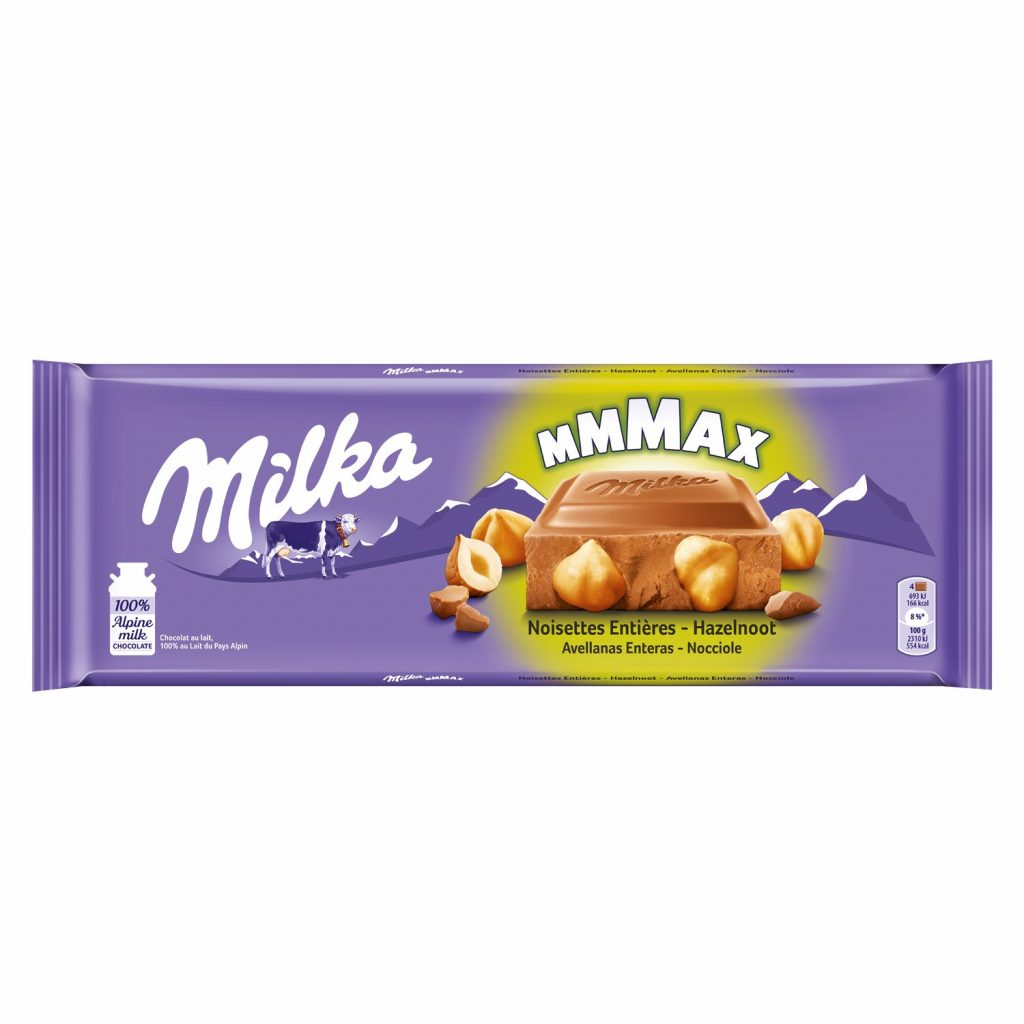Chocolat Noisettes Milka - My French Grocery