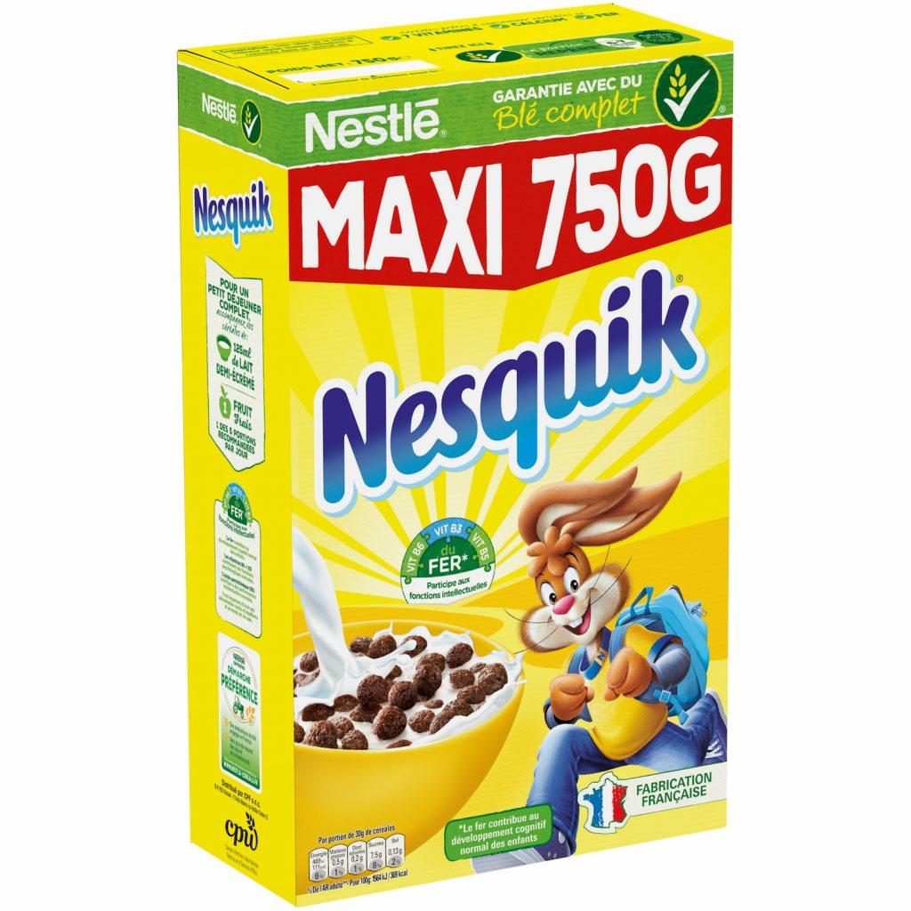 Nesquik Chocolate Cereals