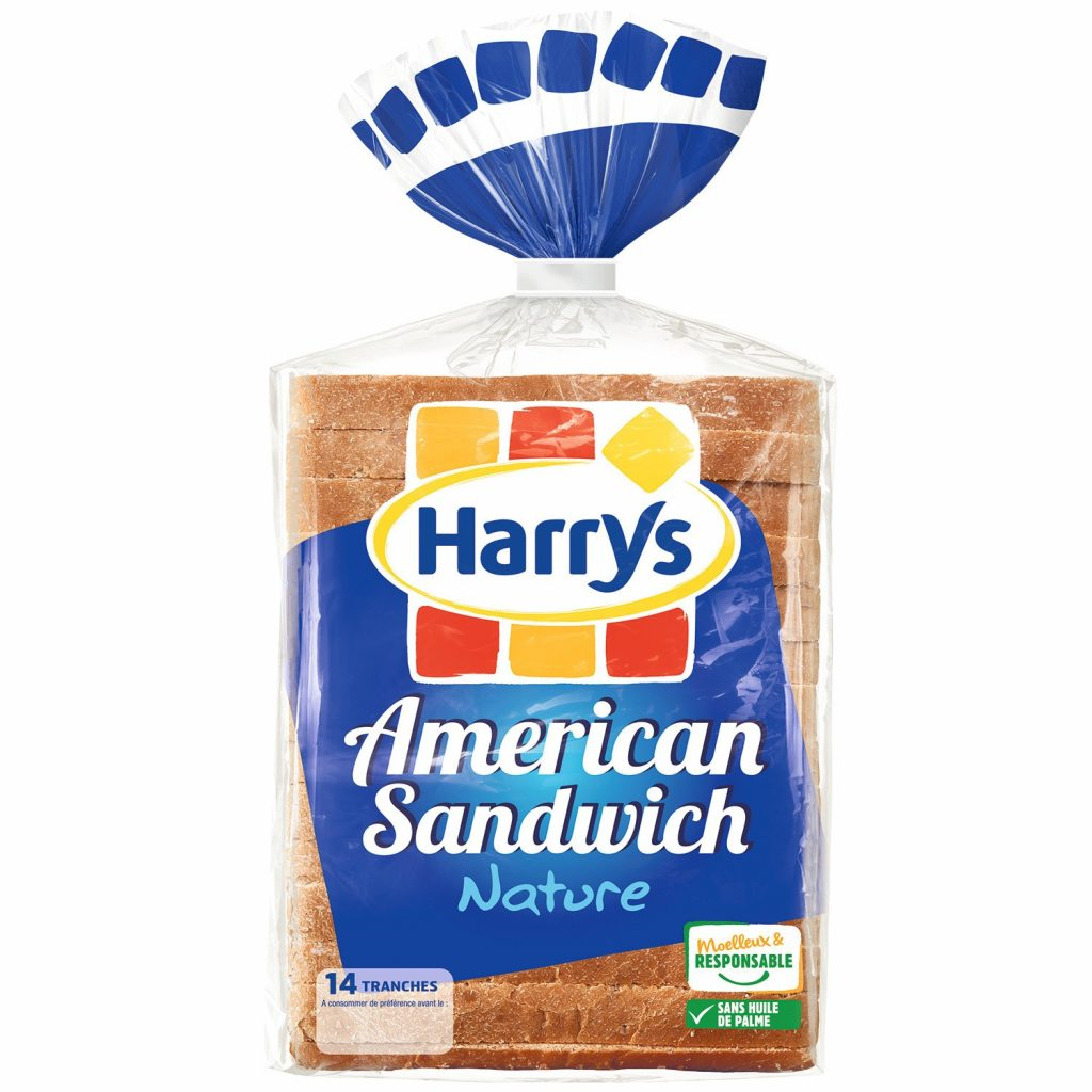 Pain De Mie American Sandwich Harry's - My French Grocery