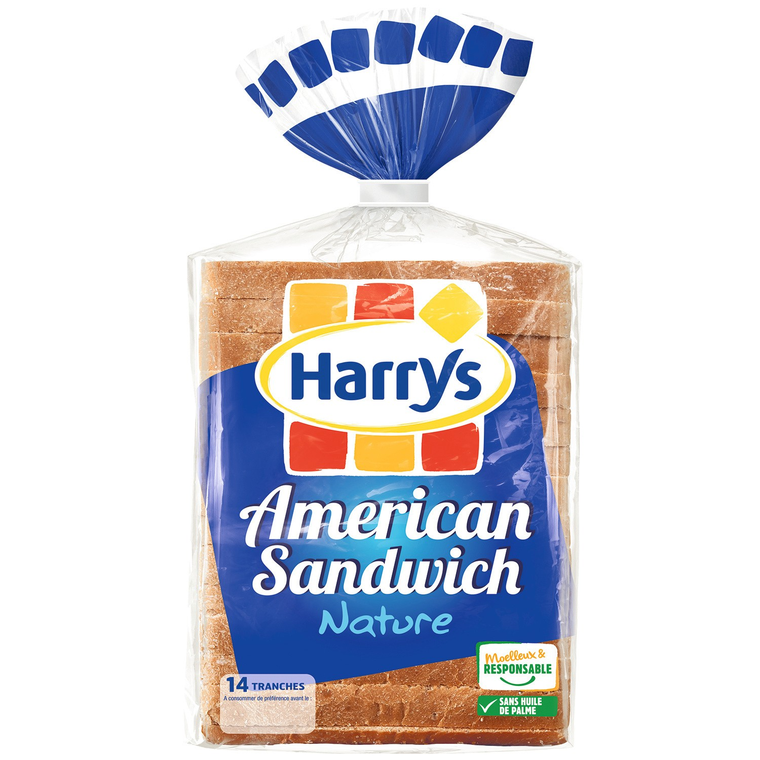 Soft Bread American Sandwich Harry S My French Grocery
