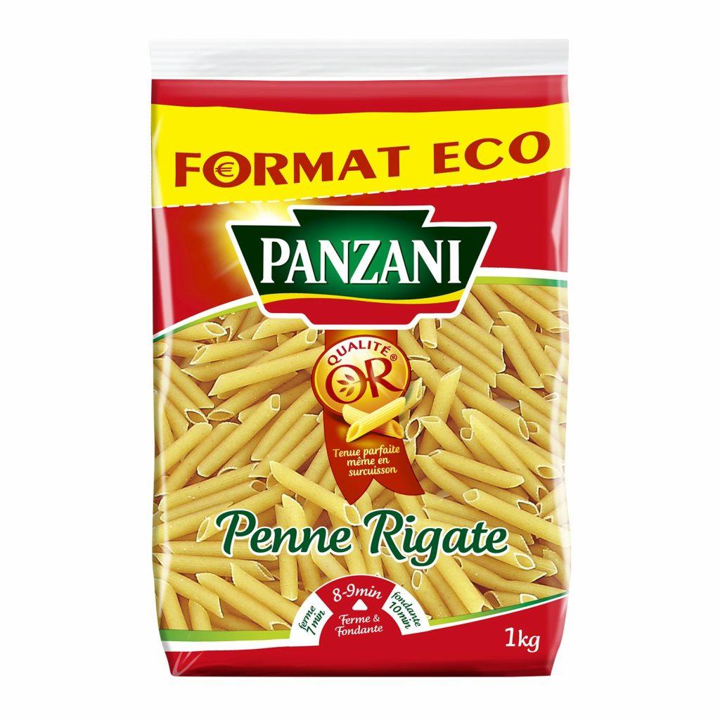 Pâtes Penne Rigate Panzani - My French Grocery
