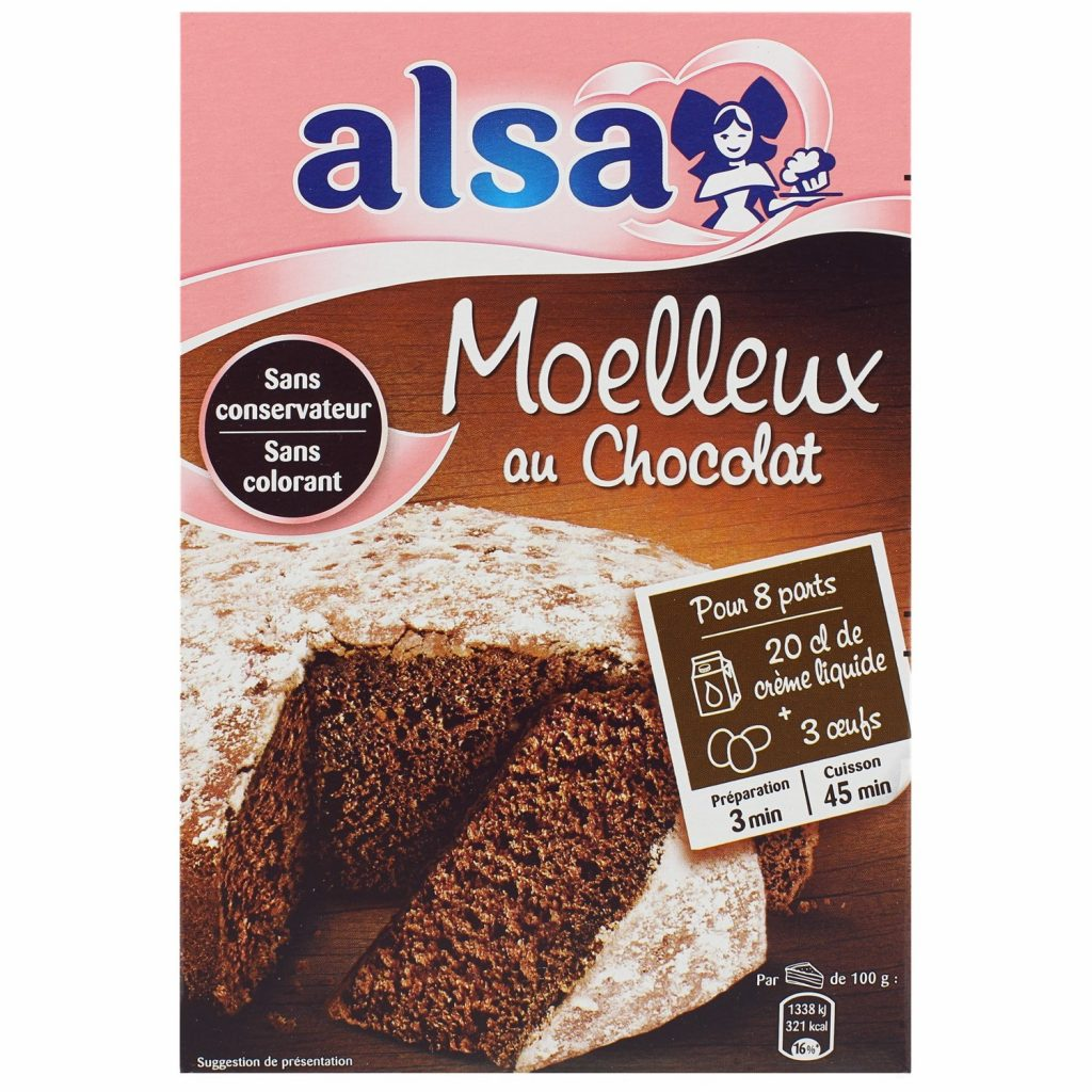 Préparation Moelleux Au Chocolat Alsa - My French Grocery