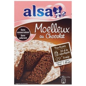 Préparation Moelleux Au Chocolat Alsa - My French Grocery