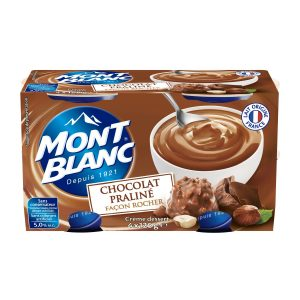 Chocolate-Praline Cream Mont-Blanc