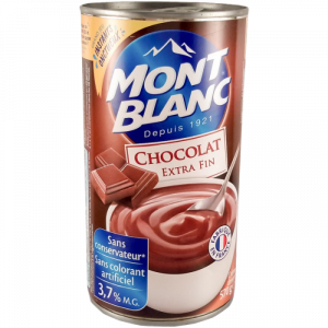 Chocolate Dessert Cream Mont-Blanc