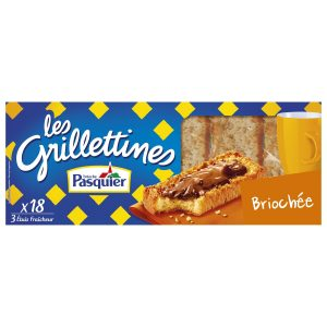 "Biscottes Briochées ""Grillettines"" Pasquier - My French Grocery"