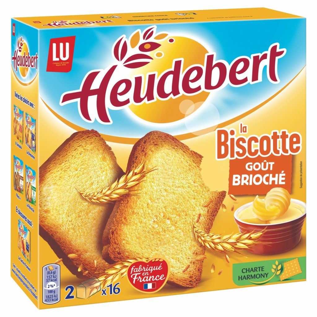 Biscottes Goût Brioché Heudebert - My French Grocery
