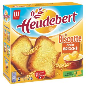 Biscottes Goût Brioché Heudebert - My French Grocery