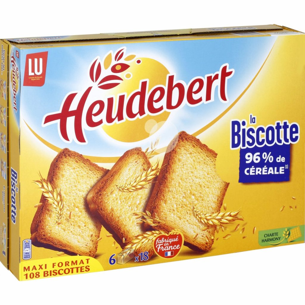 Biscottes Heudebert XL - My French Grocery