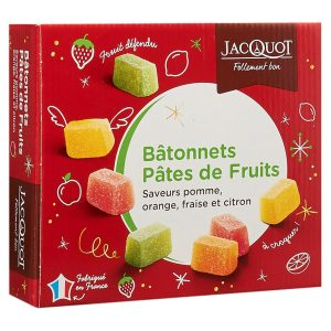 Fruit Bars Assortment Jacquot