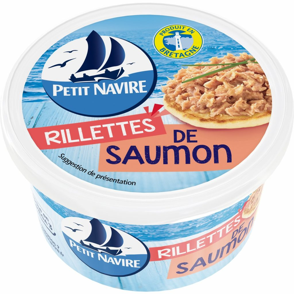 Rillettes De Saumon Petit Navire - My French Grocery