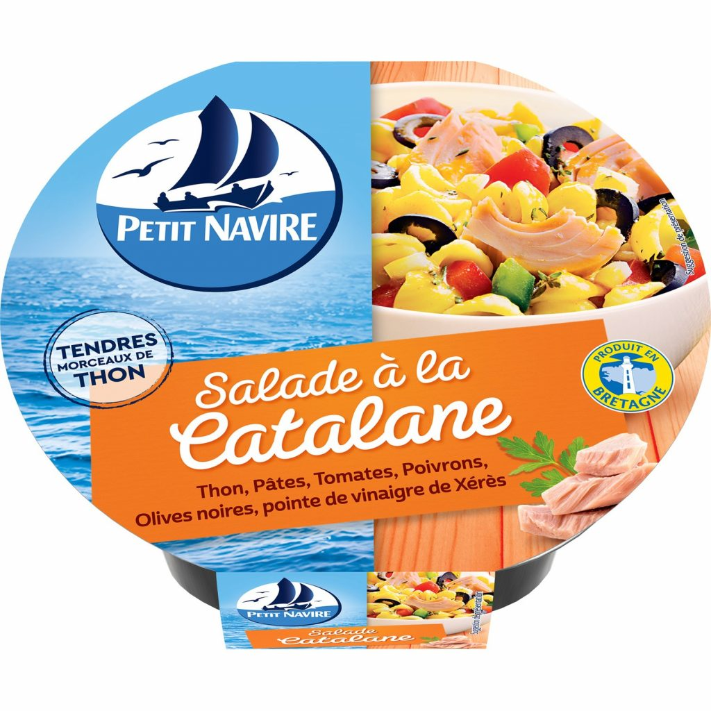 Salade Thon Catalane Petit Navire - My French Grocery
