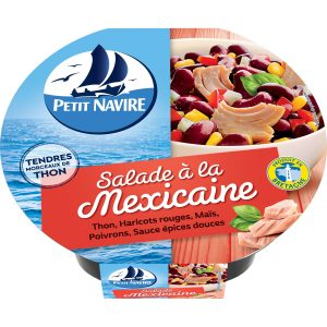 Salade Thon Mexicaine Petit Navire - My French Grocery