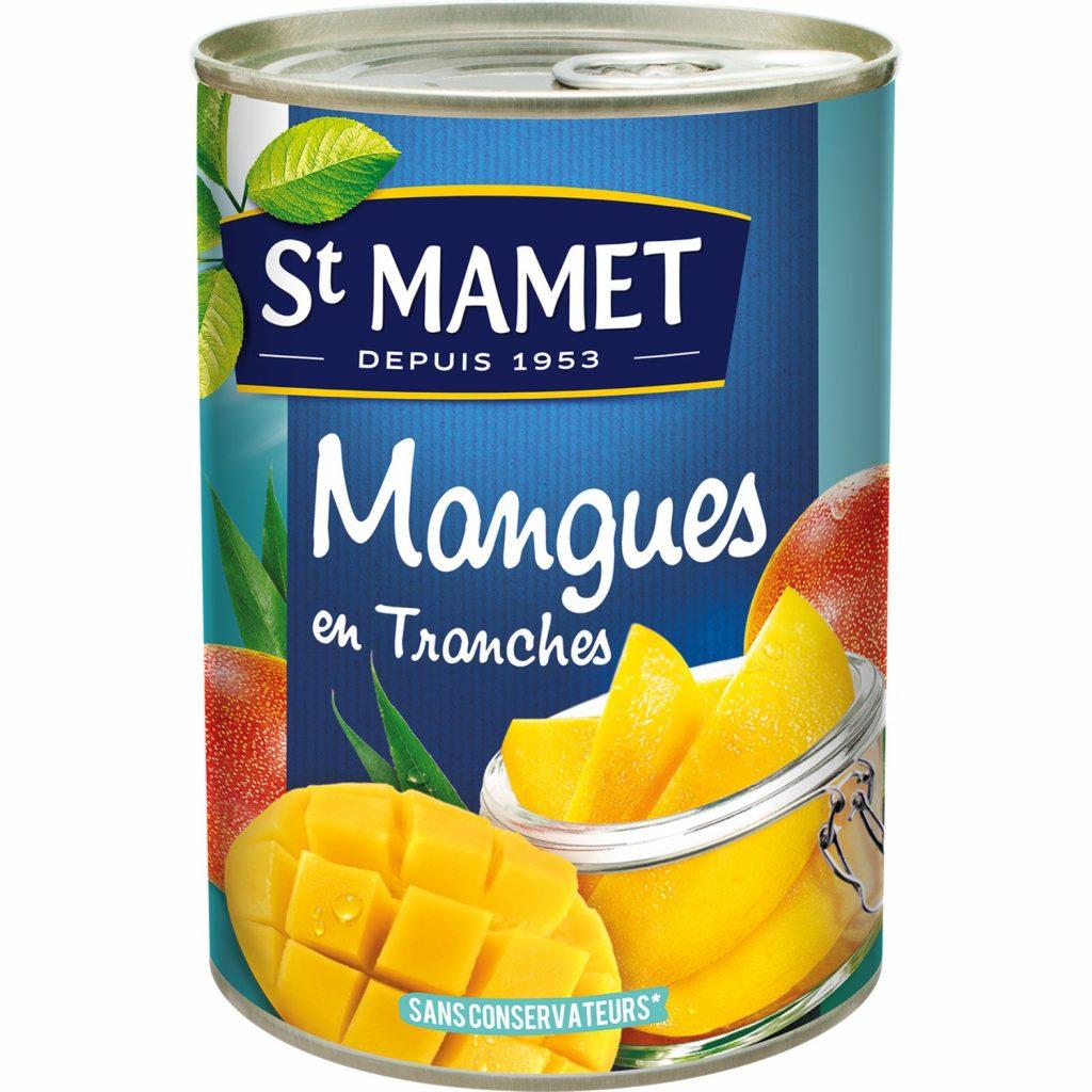 Sliced Mango In Syrup St-Mamet