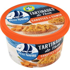 Tartinades Thon Carottes Cumin Petit Navire - My French Grocery