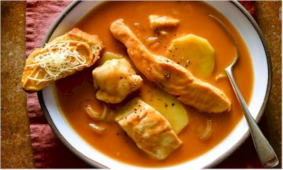 THE RECIPE OF THE MONTH : BOUILLAIBAISSE