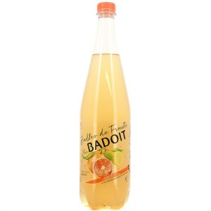 Boisson Gazeuse Pamplemousse / Citron Badoit - My French Grocery
