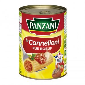 Cannelloni Pur Boeuf Panzani - My French Grocery