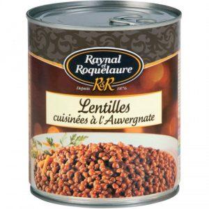 Lentilles Cuisinées à l'Auvergnate Raynal & Roquelaure - My French Grocery