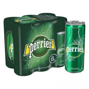 Natural Mineral Sparkling Water Perrier