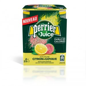 Boisson Gazeuse Citron Goyave Perrier - My French Grocery