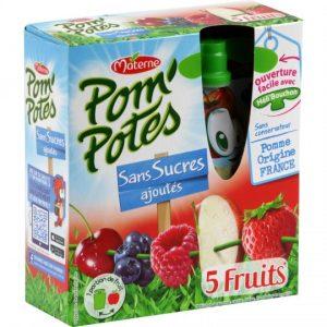 5 Fruits Pom'Potes Materne