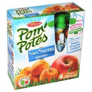 Apple & Apricot Pom'Potes Materne