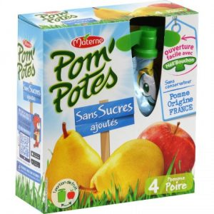 Apple & Pear Pom'Potes Materne