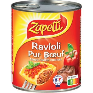 Pure Beef Ravioli Zapetti