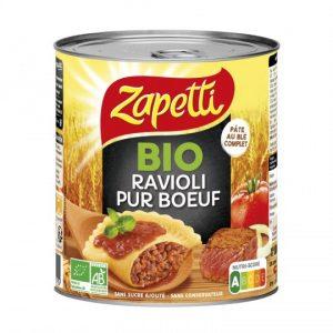 Organic Pure Beef Ravioli Zapetti