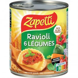 Ravioli 6 Légumes Zapetti - My French Grocery