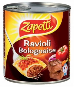 Bolognaise Ravioli Zapetti