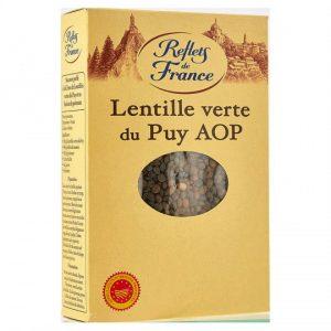 Lentilles Vertes Du Puy Reflets De France - My French Grocery