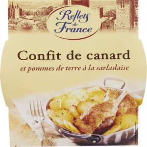 Duck Confit With Potatoes Reflets De France
