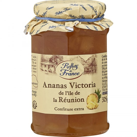Confiture d'Ananas Reflets De France - My French Grocery