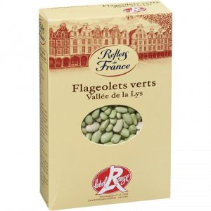 Flageolets Verts Label Rouge Reflets De France - My French Grocery